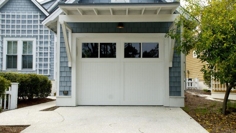 Drzwi do garażu - przykład